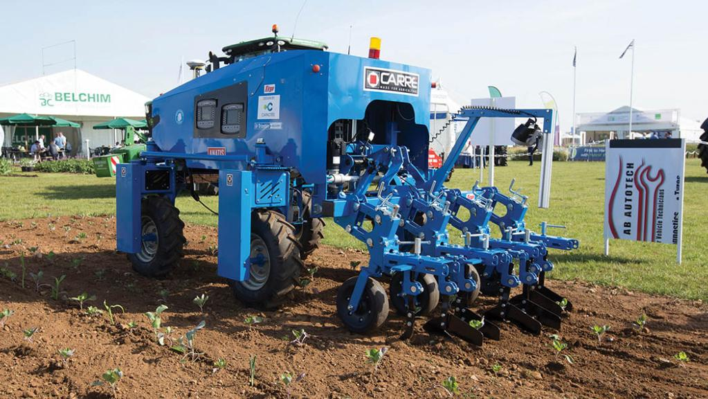 Farm robotics impact on labour shortage being 'over-estimated'