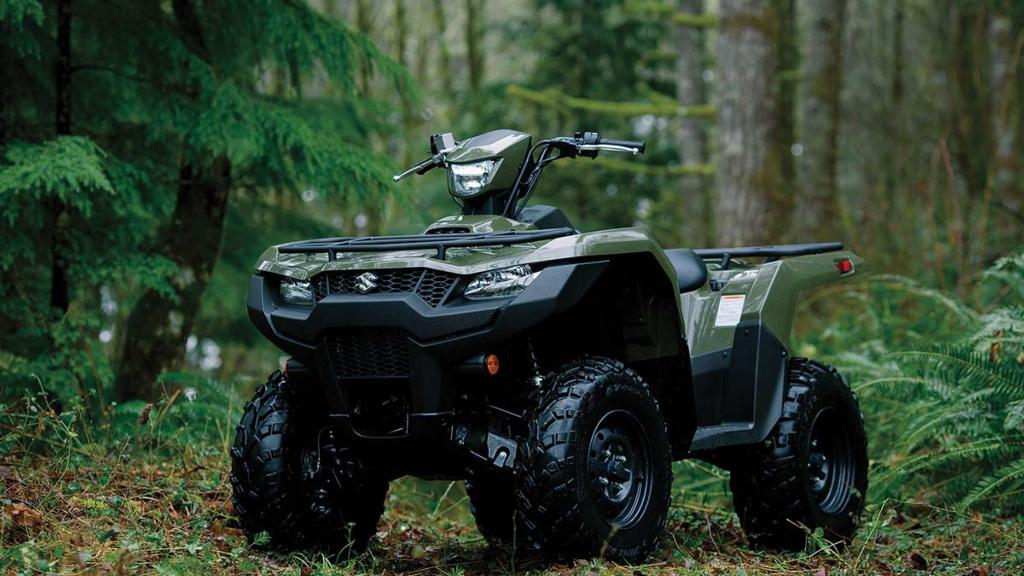 New king in town: Suzuki launches three new ATV models
