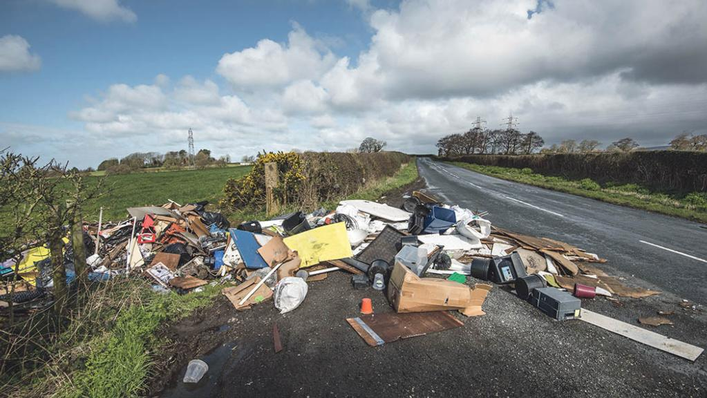 UK farmers demand action as fly-tipping problem spirals out of control