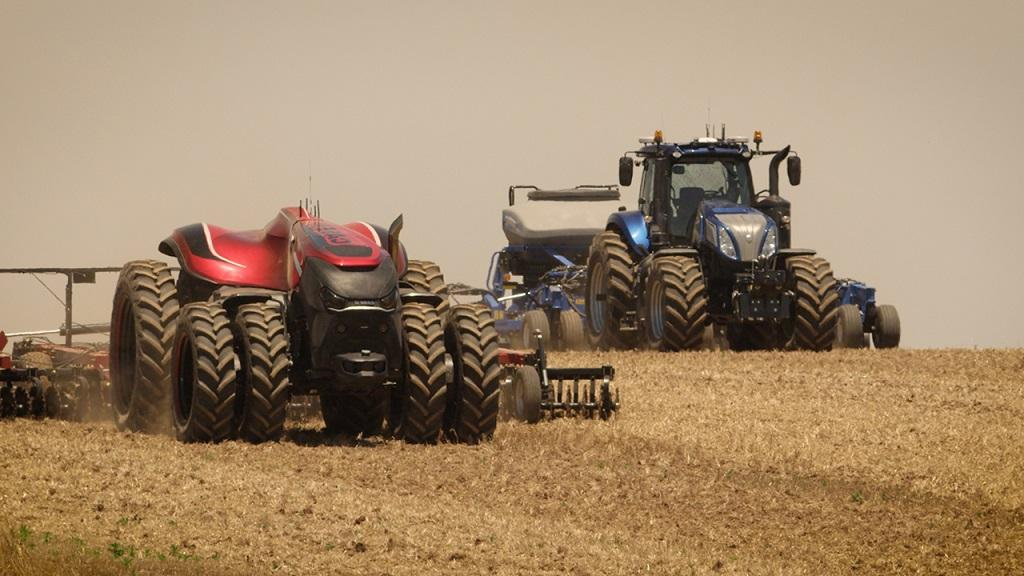 CNH takes driverless tractor concepts one step further