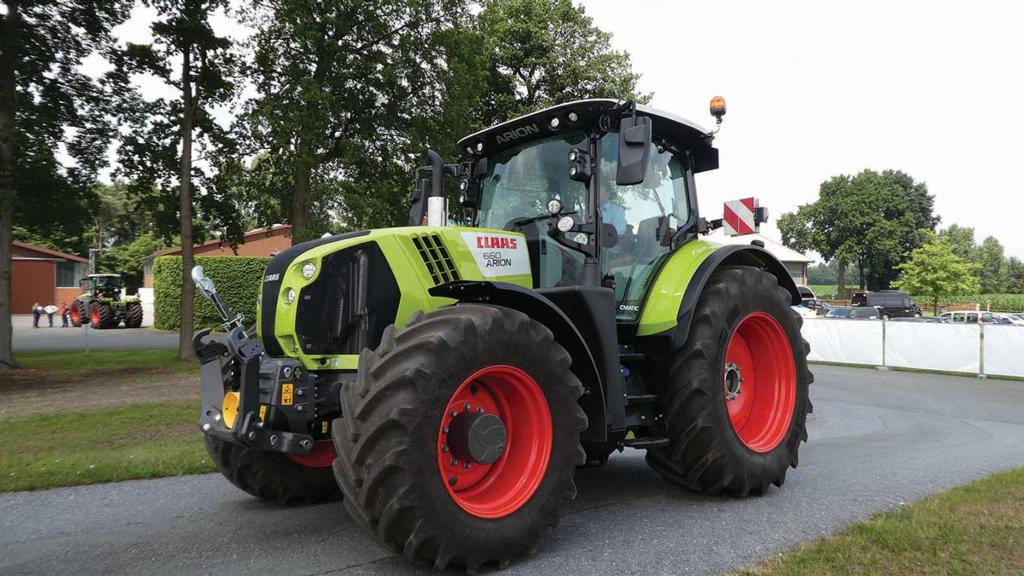 Major tractor developments in the 100-200hp power bracket
