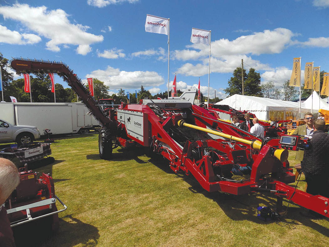 Scanstone launches new harvester