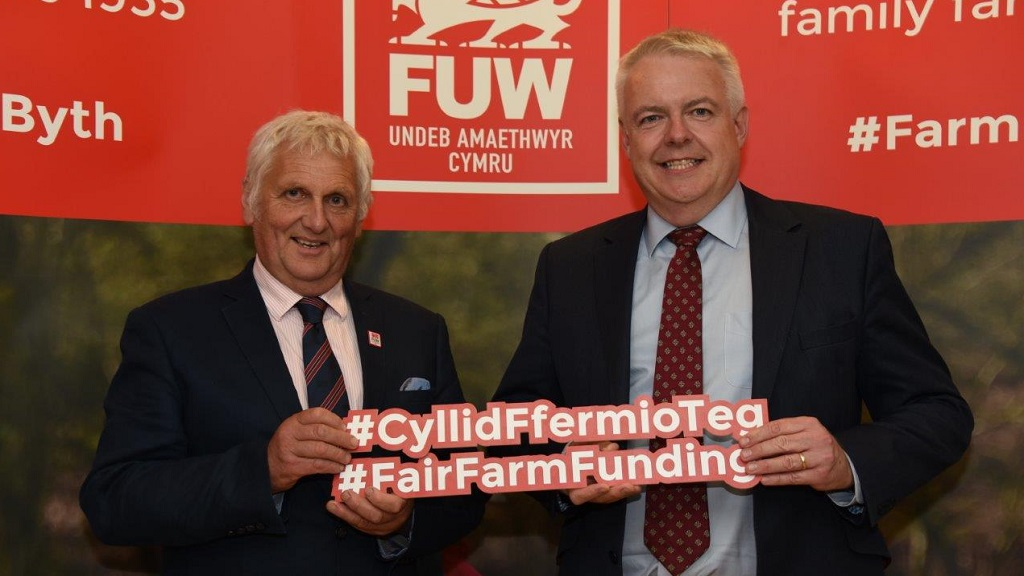 Welsh Government 'will be standing firm behind Welsh farmers' after Brexit