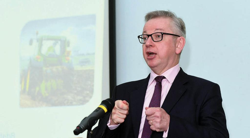 Gove accused of 'hypocrisy' after u-turn on taking control of environment rules