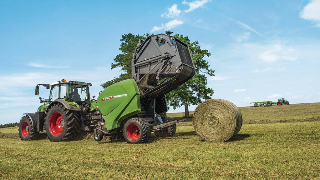 Well-rounded expertise: Making the perfect bale