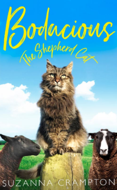 Bodacious The Shepherd Cat by Suzanna Crampton