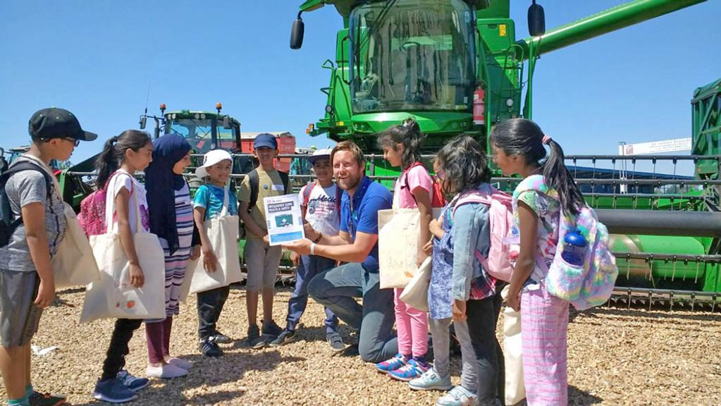 Children's safety on farms promoted at interactive event