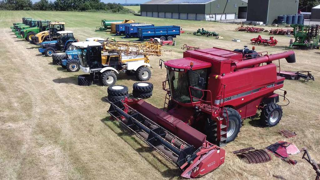 Cheffins reports uplift in second-hand farm machinery market value