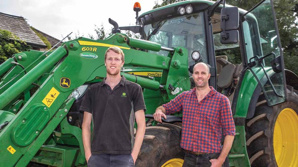 Tractor and loader versatility enhanced for Devon dairy farm