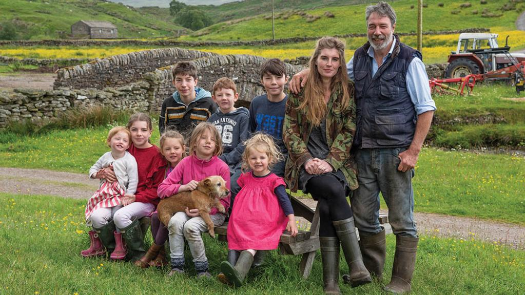 Backbone of Britain: Family at the heart of Yorkshire Shepherdess' farm