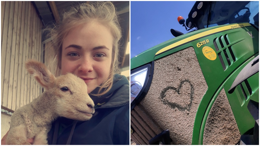 Young Farmer bounces back from depression and urges industry to 'spread the love'