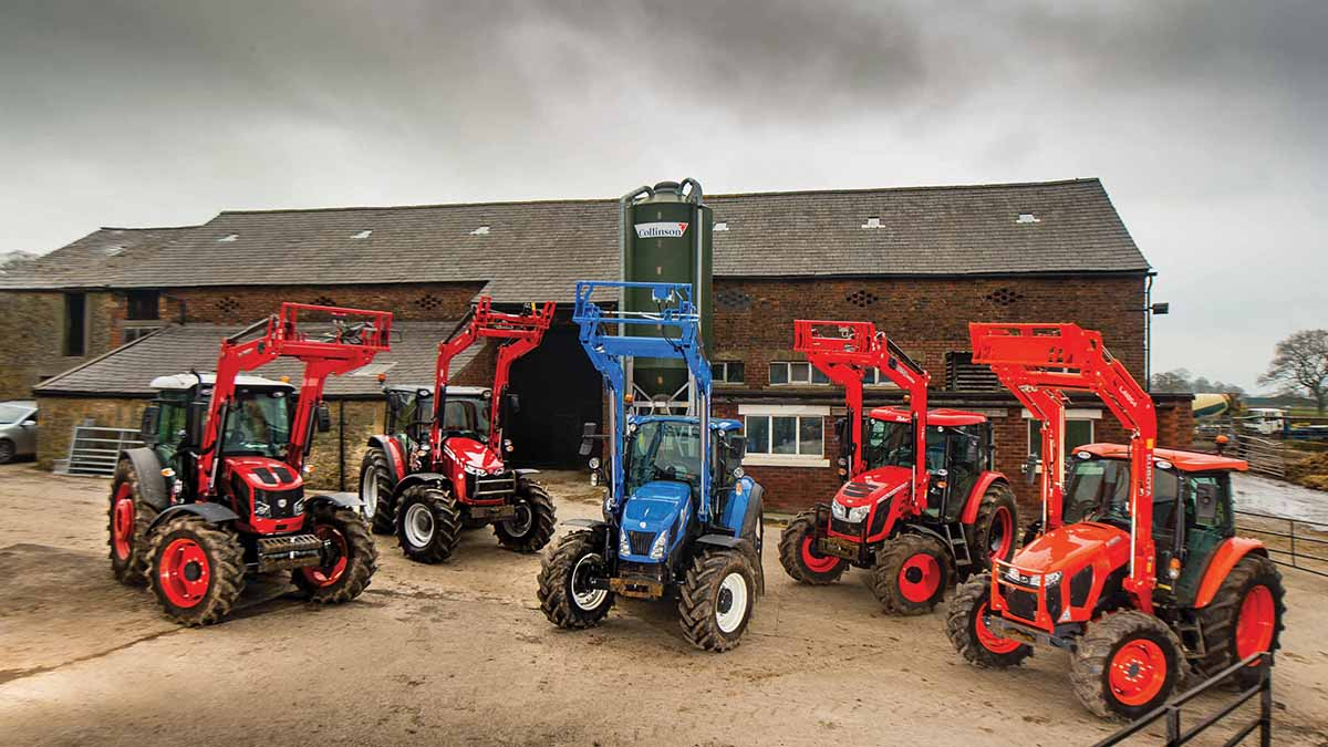 November tractor registrations down significantly on the year in the UK