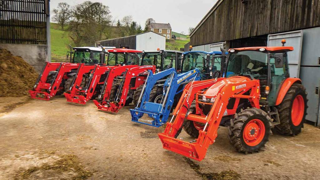 Farmers Guardian video special: 110hp loader tractors go head-to-head