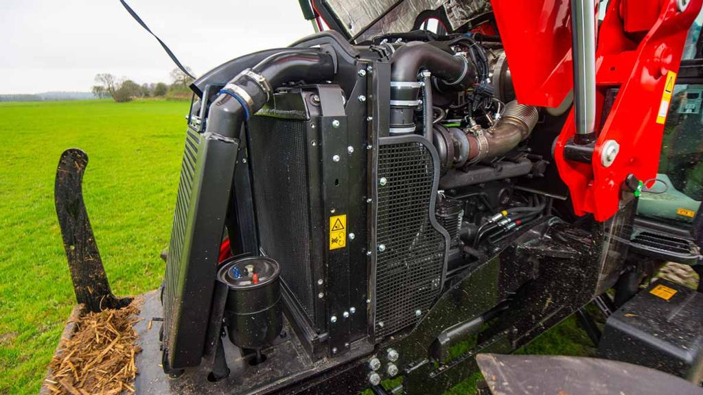 ENGINE & TRANSMISSION: ZETOR PROXIMA HS120