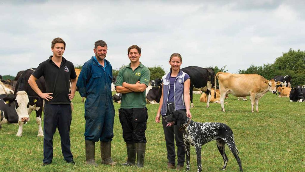 Family secures dairy's future by diversifying into ice cream