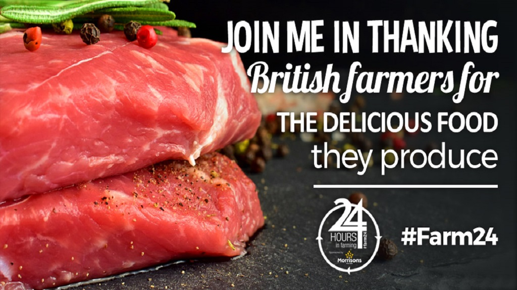 'I commend our hard working farmers' - Theresa May gets behind #Farm24