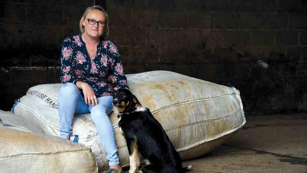 Backbone of Britain: Farmer's wife offers support to lonely rural women