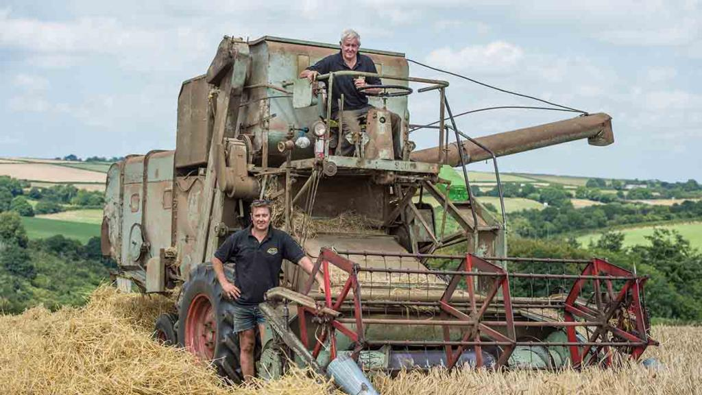 Why one farmer will NEVER sell his combine harvester after 52 proud years