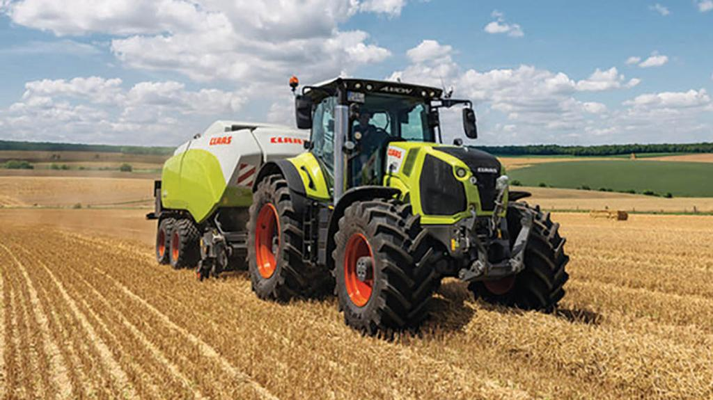 CLAAS AXION 800 SERIES