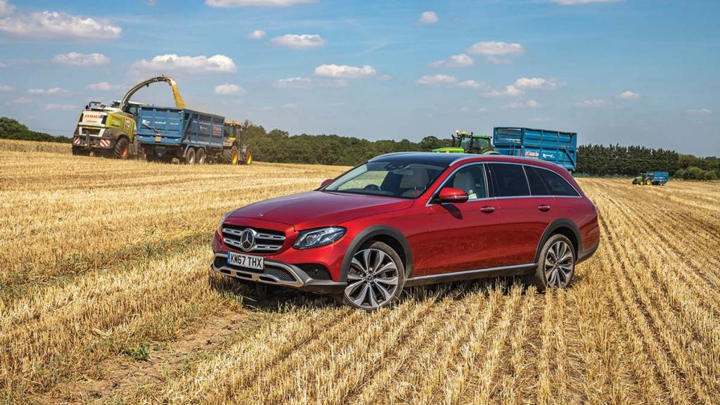 Mercedes Benz E350d 4matic All Terrain Too Smart For Its Own Good Insights Farmers Guardian