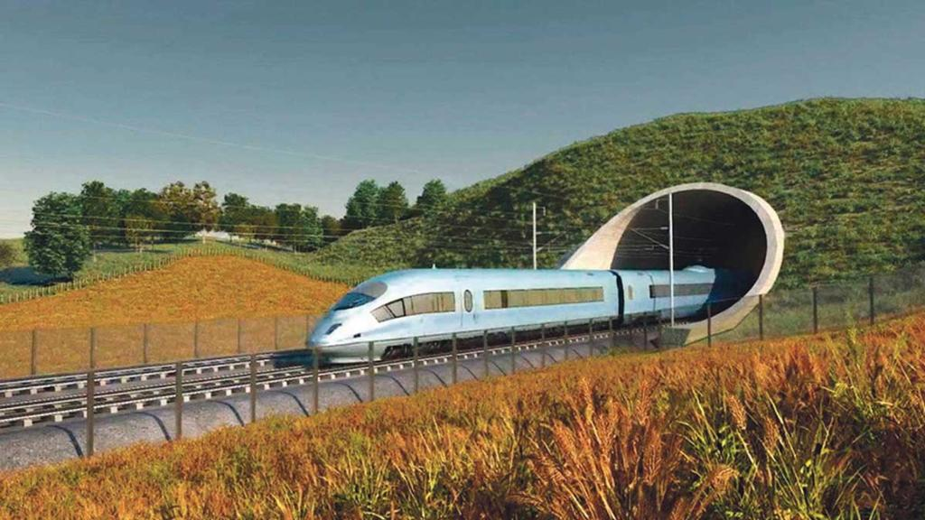 NFU warns land taken out of production to build HS2 harms farm businesses