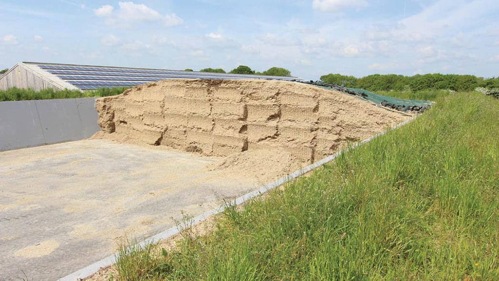 What farmers should consider when building a new silage clamp
