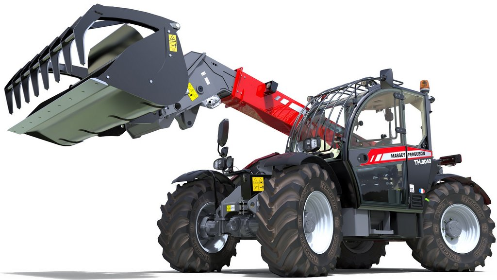 Massey Ferguson launches new flagship telehandler