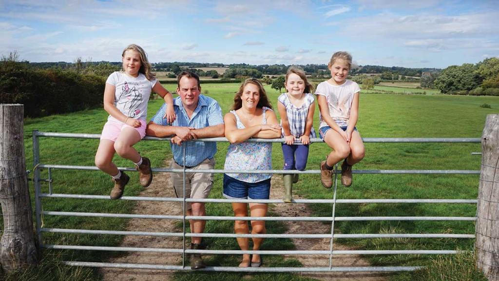 Young couple beat the odds and fulfil their farming dream