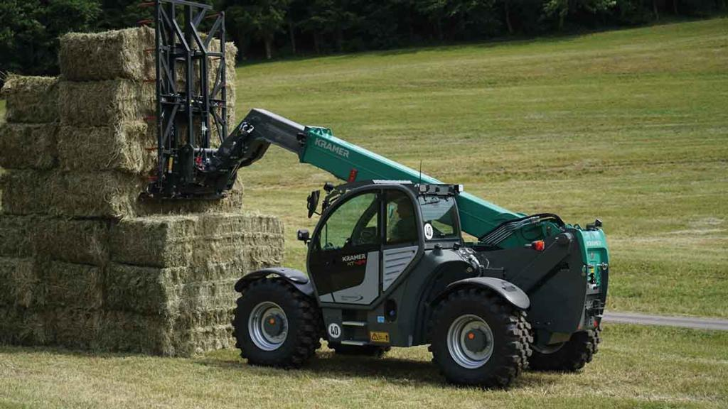 Kramer lifts the lid on new loader models