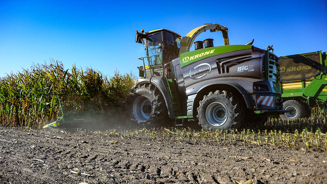 Krone launches new flagship BigX 1180 self-propelled forager