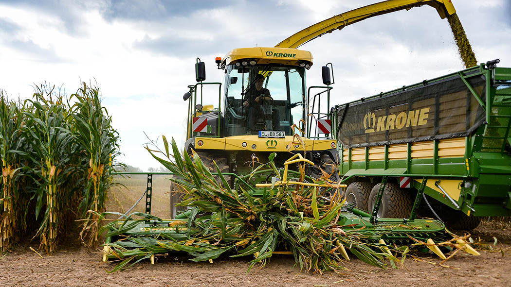 New headers, processors and an automated trailer filling system: Krone reveals forager developments