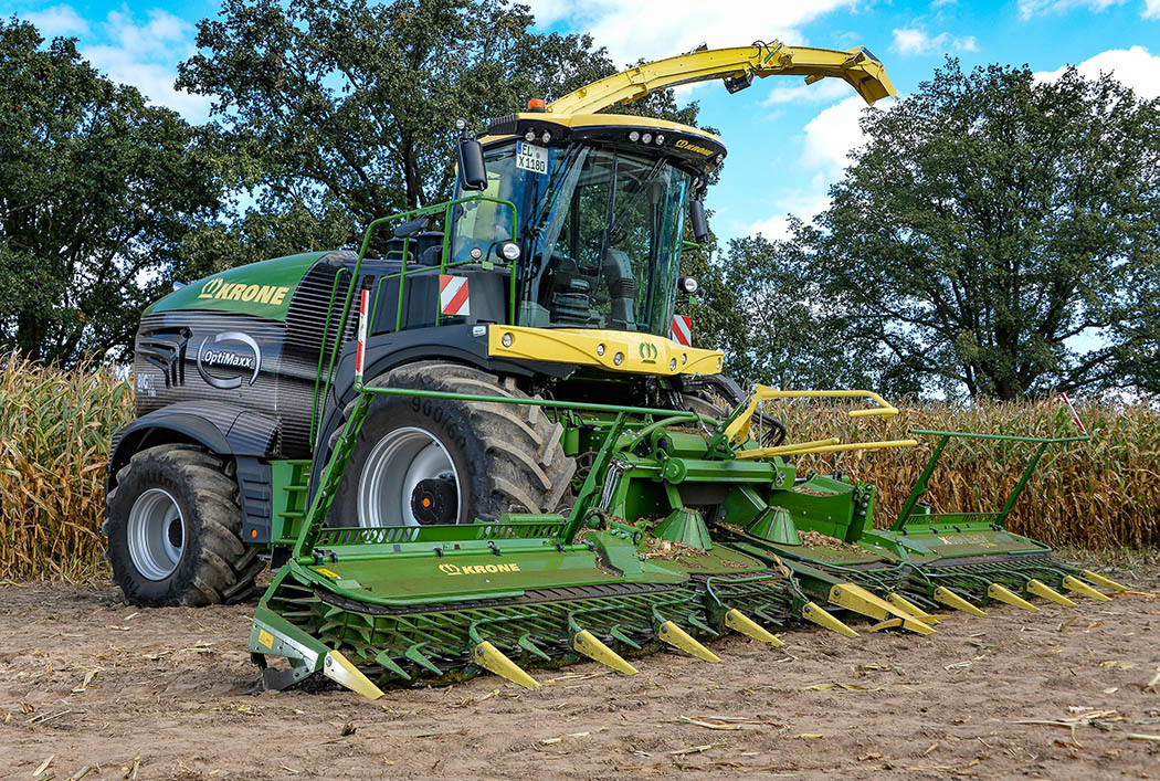 Still the world's most powerful forager, Krone launches the BigX 1180.