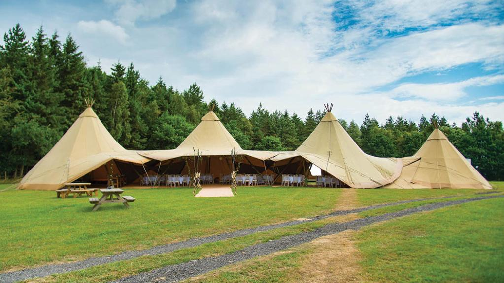 Diversification special: Glamping and wedding venue exploits Lord of the Rings links