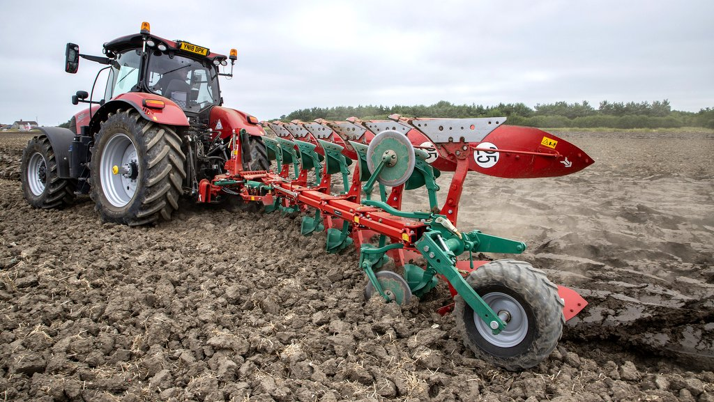 Kverneland introduces beefier ploughs for more powerful tractors