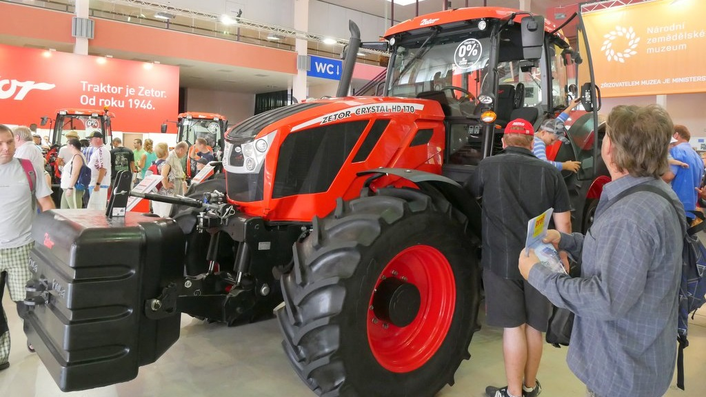 Zetor boosts spec levels with new Crystal 170 HD tractor