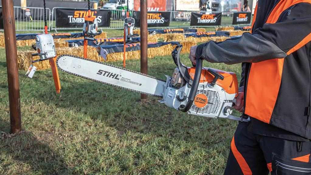 Stihl new chainsaw