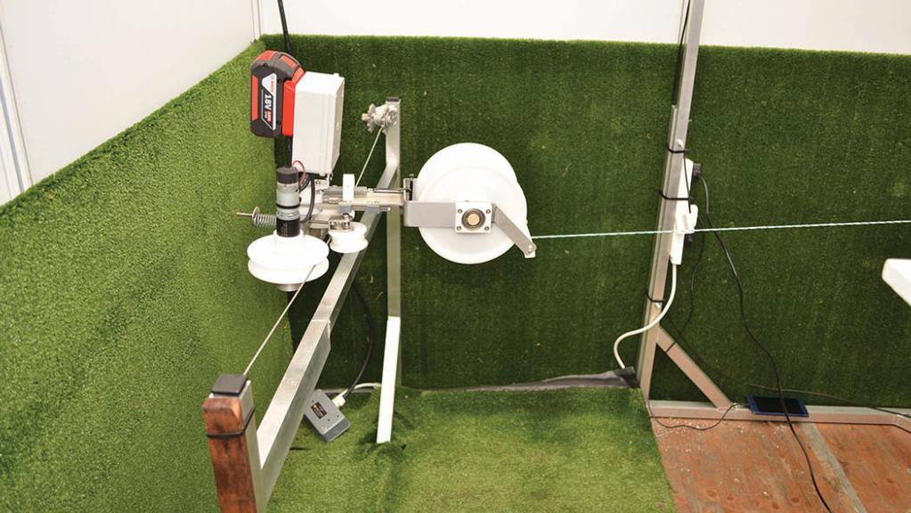 Freshgraze robot electric fence