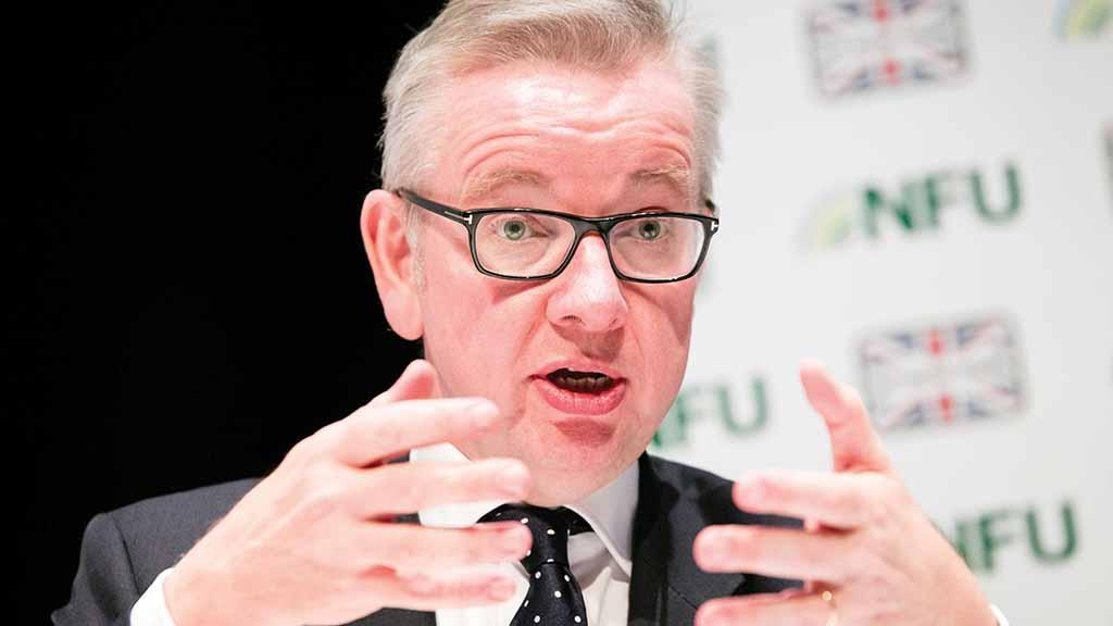 Gove announces 'fair funding' review for farmers across UK