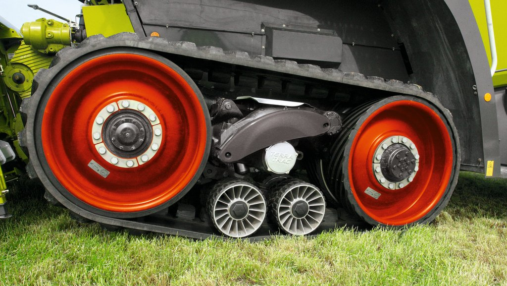 A track lift system has been developed to reduce scuffing.