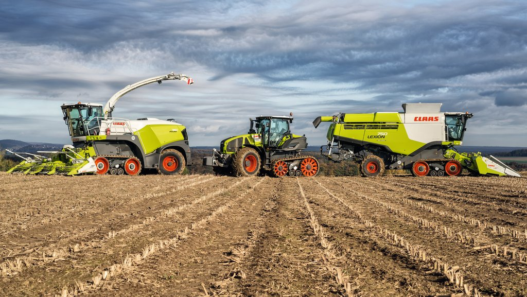The tracked forager adds to Claas' Terra Trac line-up.