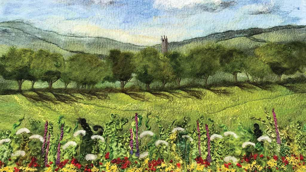 Meet the artists using Great British wool to create masterpieces