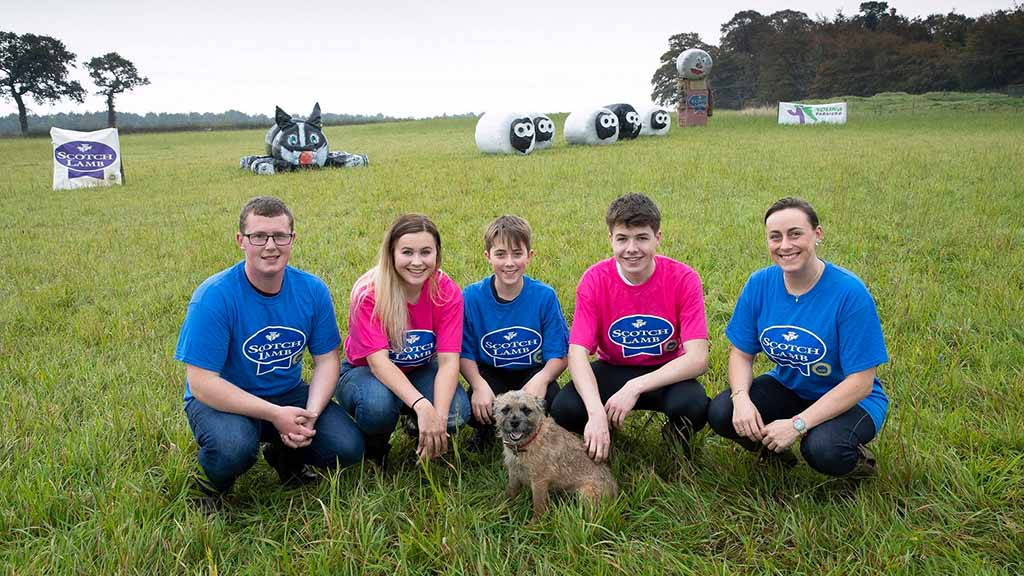 Stirling, Strathendrick and Strathkelvin YFC crowned QMS' bale art champ