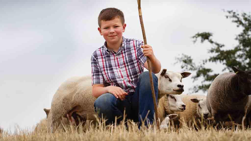 Backbone of Britain: 'I love spending time with my dad and the sheep' - Joe Thornley, 12