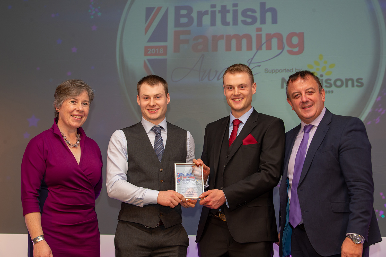 Machinery and Farm Technology of the Year, sponsored by Armatrac