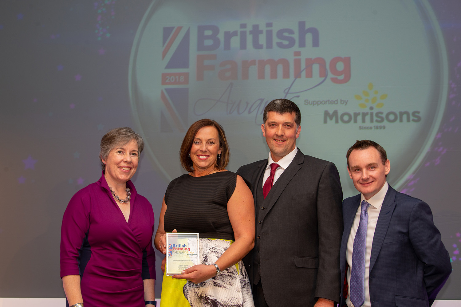 Family Farming Business of the Year, sponsored by Morrisons