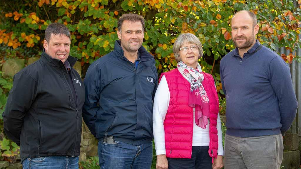 Family's pedigree sheep production goes hand-in-hand with commercial success