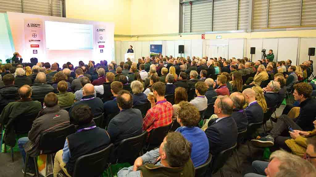 Key crop developments on show at CropTec