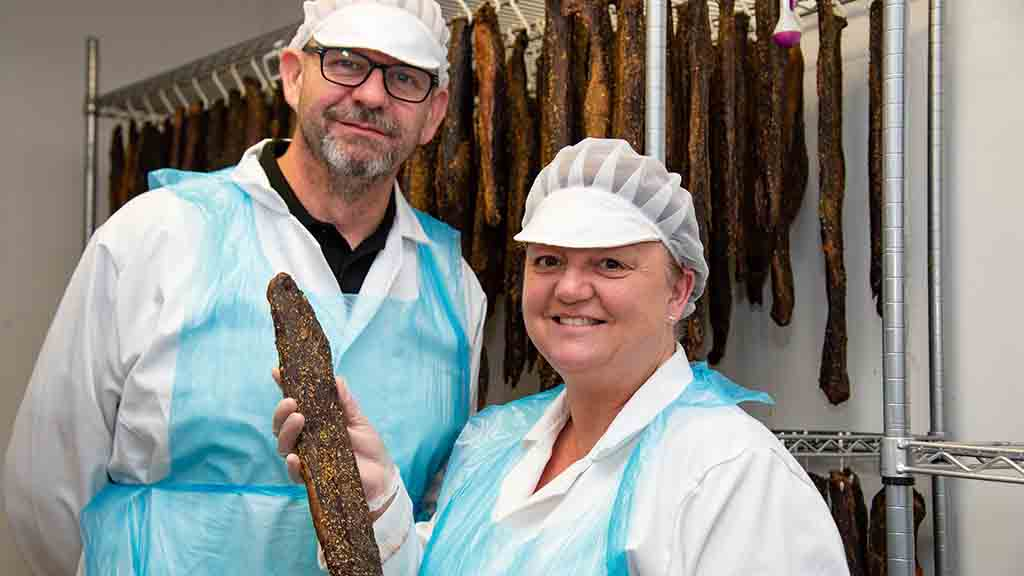 Taste of South Africa: Meet the couple who have embraced the biltong boom