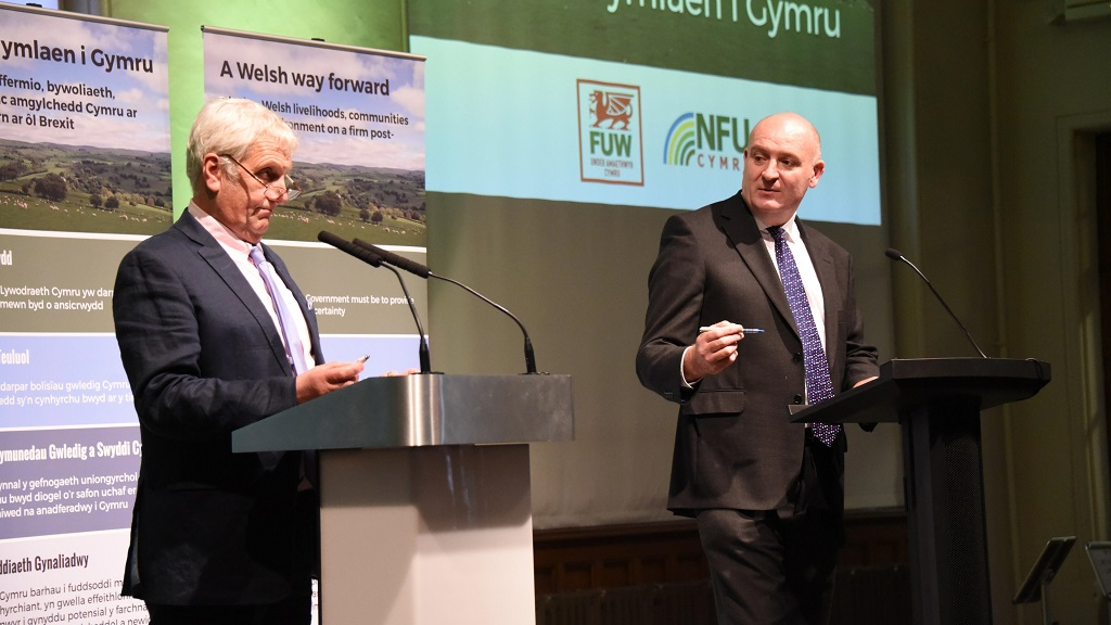 FUW and NFU Cymru launch first ever joint campaign to keep direct payments