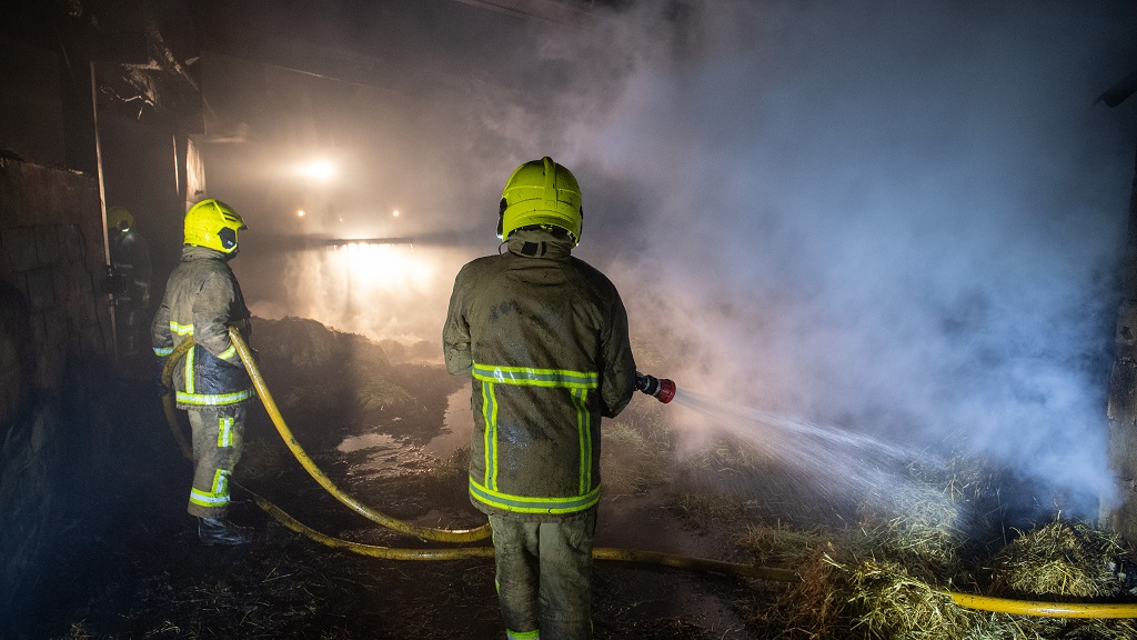 Sheep killed and barn 'destroyed' as electrical fault sparks farm fire